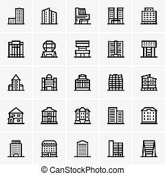 civil, épületek