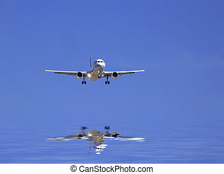 civil, avión
