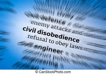 Civil Disobedience is the refusal to comply with certain...