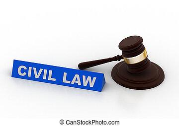 civil law concept