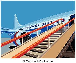 civil, repülőgép