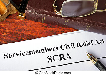 civil, servicemembers, soulagement, acte