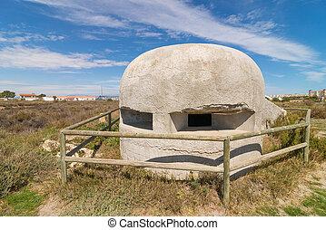Civil war bunker