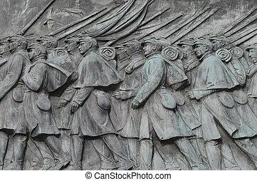 Civil War Calvary Statue in Washington DC