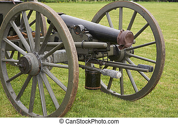 civil war cannon - American Civil War field cannon artillery