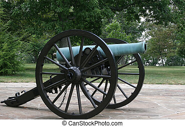 Civil War Cannon - An old cannon from the American civil war...