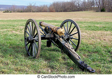 Civil War Cannon - This is one of the civil War Reenacters...