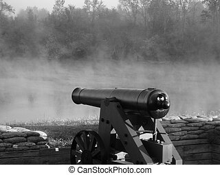 Civil War Cannon - Civil war cannon