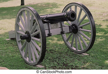 cannon - civil war cannon