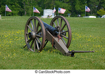 Civil War Cannon - This is a photo of a civil war cannon...