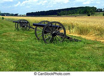 Civil War Canons Gettysburg PA