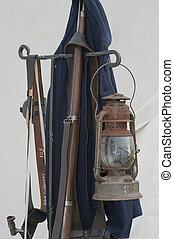 Civil War Re-enactment - Civil War Enactment. Century ...
