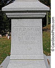 civil war veteran headstone - civil war veterans historical...