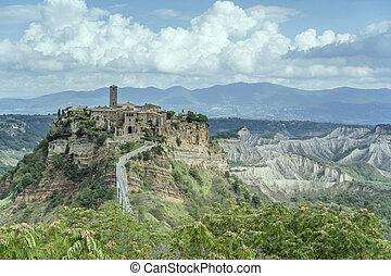 Civita di Bagnoregio hilltop village, Viterbo, Italy