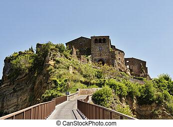 Civita di Bagnoregio -Italy - panorama
