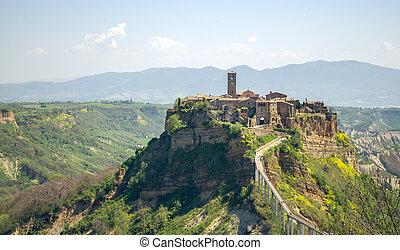 Civita di Bagnoregio Lazio Italy