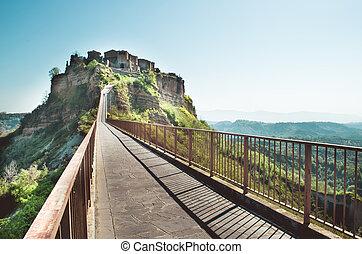 Civita di Bagnoregio - Lazio landscape - Viterbo province (italy)