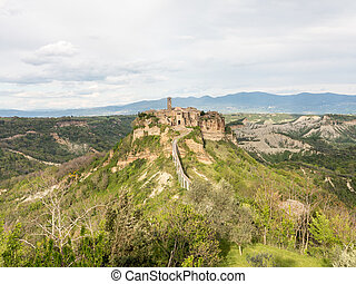 Civita di Bagnoregio The town that is dying
