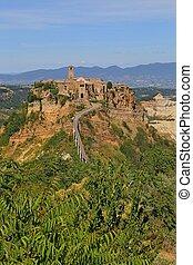 Civita di Bagnoregio town in the Province of Viterbo Italy,