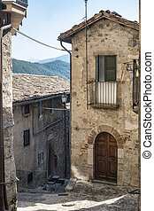 Civitella del Tronto (Teramo, Abruzzi, Italy)