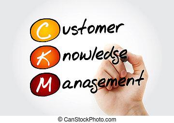ckm, client, gestion, -, connaissance