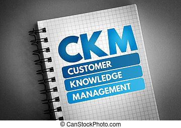 ckm, gestion, acronyme, client, -, connaissance