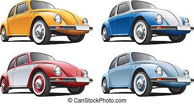 clásico, coche, no5