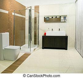 clásico, cuarto de baño