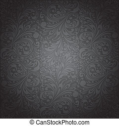 clásico, ornamento, papel pintado