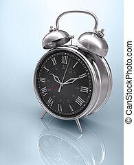 clásico, reloj