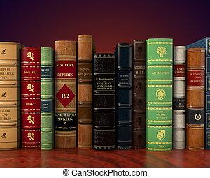 clásico, vendimia, libros