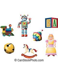 clássicas, brinquedos, 1