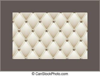 clássicas, couro, pattern., decoração, tema, vetorial, fundo...