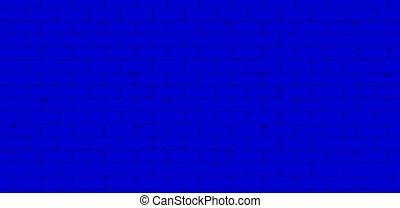 clássicas, engenharia, parede, tijolo, azul