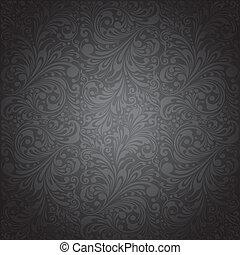 clássicas, ornamento, papel parede