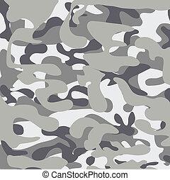 clássicas, urbano, militar, camuoflage, padrão