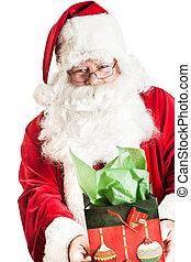 cláusula santa, segurar um presente