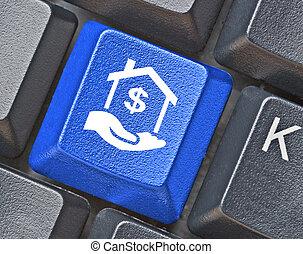 clã©, e-affaires, clavier