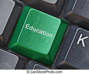 clã©, pour, education