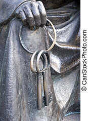 clés, bronze