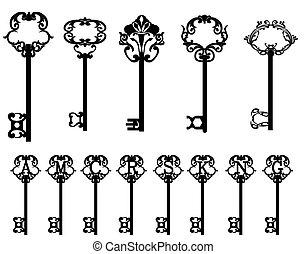 clés, collection