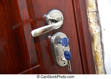 clés, porte