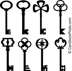 clés, vendange, collection