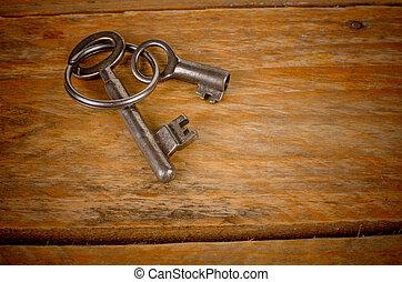 clés, vieux