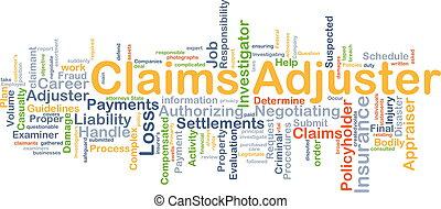 claims, 概念, 調節器, 背景