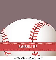 clair, base-ball, fond
