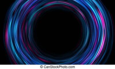 clair, cercles, résumé, liquide, fond, mouvement, ondulé, high-tech