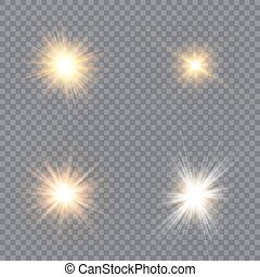 clair, ensemble, stars.