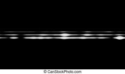 clair, lignes, horizontal