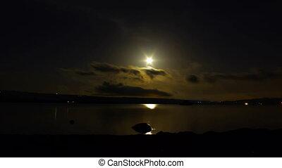 clair lune, défaillance, temps